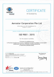 thumbnail of ISO 9001 2015 CERTIFICATE