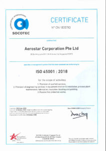 thumbnail of Aerostar-ISO 45001 – 2018