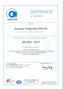 thumbnail of Aerostar-ISO 9001 – 2015